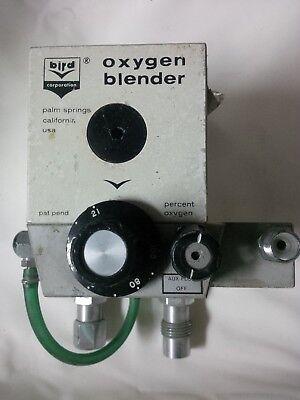 Bird 3m Air Oxygen O2 Blender Mixer Sn 7525-1006 Miami