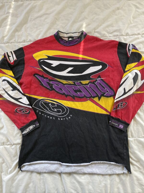 Jt Racing Paintball Motocross Jersey Shirt XL - Vintage - Hard to Find - Rare!