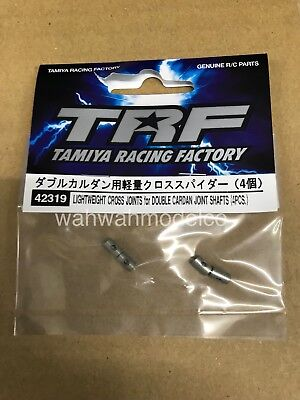 Lightweight Cross Shaft (Tamiya 42319 RC Lightweight Cross Joint(4pcs)For Double Cardan Joint Swing Shaft )