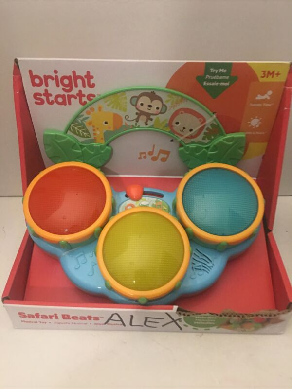 Bright Starts Safari Beats Musical Toy 3 Months Plus