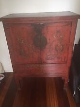 Wooden Chinese style cabinet Hurlstone Park Canterbury Area Preview