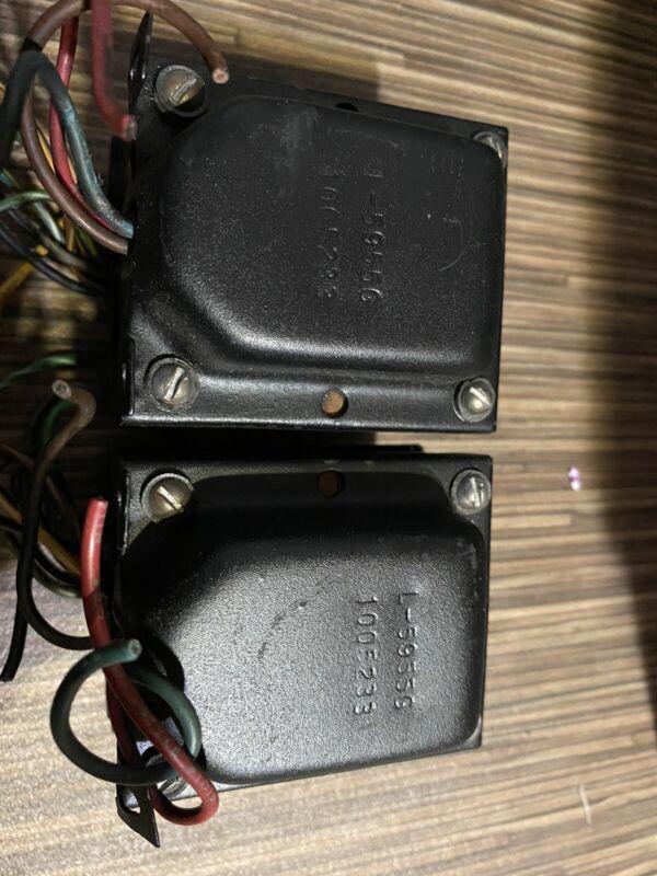 Vintage Pair ROWE R-4359A Northlake Tube Transformer L-5955G p/P 7868 7591 50l6