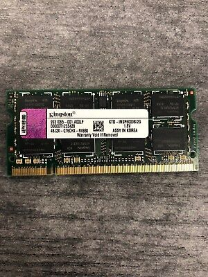 BRAND NEW KINGSTON 2GB (1x2GB) PC2-5300 DDR2-667MHz Laptop RAM SODIMM A0643480