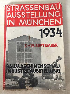 Strassenbau Ausstellung in München 1934