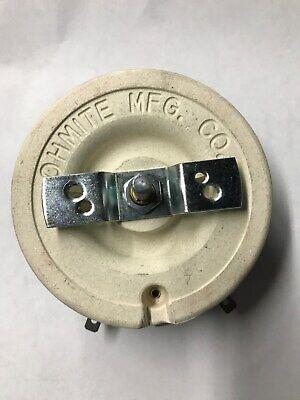 030653 Miller Rheostat 15 Ohm 150w Fits Srh-222 333 444 555 Dial Arc