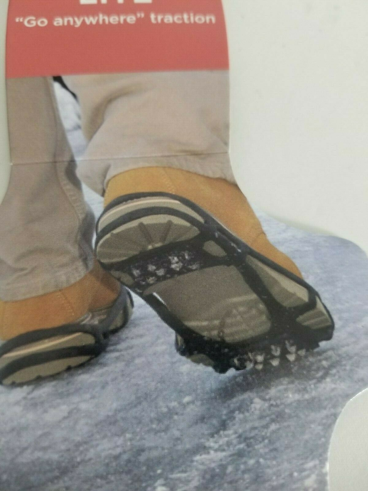 New LL Bean Stabilicers Lite Large Slippery Ice Traction Men