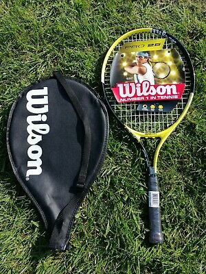 "Wilson Pro 25"" Inch Junior Kids Tennis Racket & carry case - BRAND NEW"