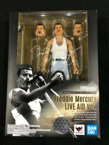 Queen: Freddie Mercury Live Aid Ver S.H.Figuarts Action Figure New in Box
