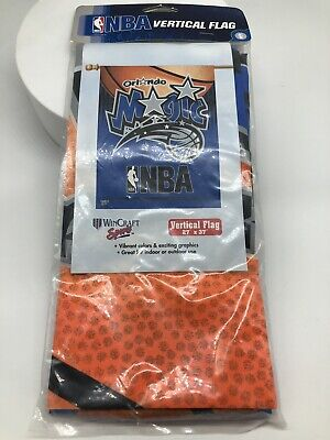 "Wincraft ORLANDO MAGIC VERTICAL FLAG NBA BANNER IN OUTDOOR NEW SEALED 27""x37"""