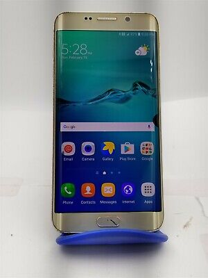 Samsung Galaxy S6 Edge+ 32GB Gold SM-G928T (T-Mobile) Great Phone! KW531