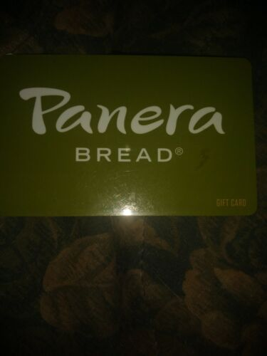 Panera Used Collectible Gift Card NO VALUE SV1604440 - $1.88