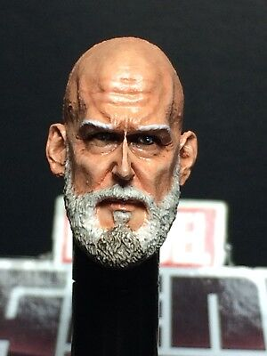 MARVEL LEGENDS PAINTED/FITTED R.S H.T OBADIAH STANE 1:12 HEAD CAST FOR 6 IN FIG.