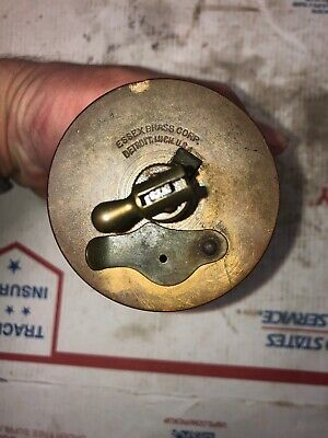 Essex Brass Co No 4 Oiler Hit Miss Stationary Engine 11-17-19