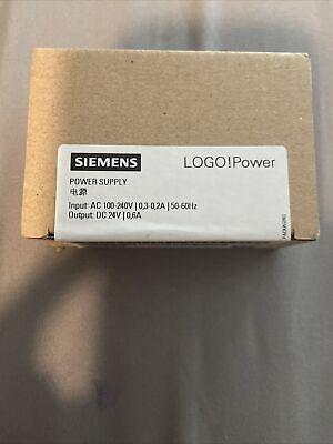 Siemens Logo Power 6ep3330-6sb00-0ay0 24v 0.6a Power Supply