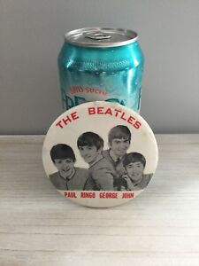 Beatles collector button