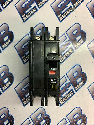 Square D Qou240 40 Amp 2 Pole 240 Volt Series 3 Circuit Breaker- New