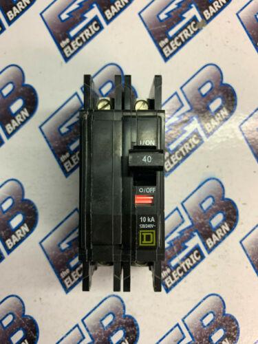 Square D QOU240, 40 AMP 2 POLE 240 VOLT SERIES 3 Circuit Breaker- NEW