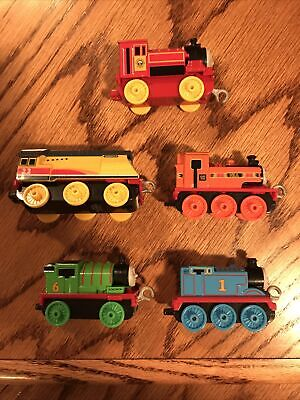 Thomas & Friends Trackmaster Push Along Lot—Thomas, Percy, Nia, Rebecca, Victor