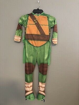 TEENAGE MUTANT NINJA TURTLES TMNT LEONARDO KIDS COSTUME SMALL SHELL AND MASK](Tmnt Leonardo Costume)
