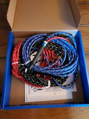 Miller-weldcraft Wp-20-25-r W-250 Torch Package 25ft7.6m. Braided Qty.1