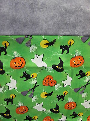 Handcrafted Halloween Pillow Cases 2 Pack Standard Size! Happy Pumpkin Design. (Halloween Handcrafts)