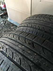 Various used tires