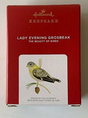 2021 Hallmark Keepsake Ornaments Lady Evening Grosbeak (Limited Edition)