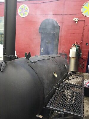 250 Gallon Bbq Smoker Trailer