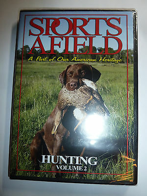 Sports Afield: Hunting Volume 2 DVD birds & deer magazine how-to video  NEW!