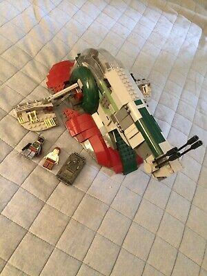 LEGO Star Wars Slave I Set 8097 boba fett Han Solo
