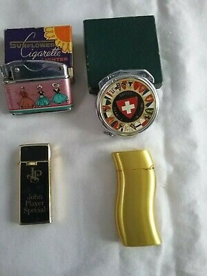 Vintage joblot cigarette lighters