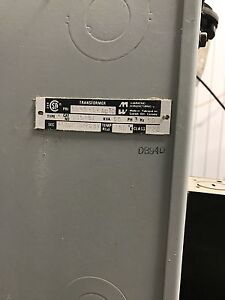 Test Transformer with voltage taps 3 phase 60 Kva with cables London Ontario image 3