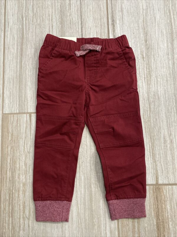 Toddler Boys Woven Pull-On Pants - Cat & Jack