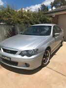 Ford Falcon XR6 2004 model with 2005 editions Orange Orange Area Preview