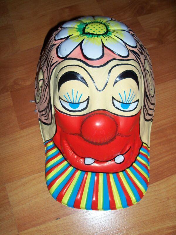Halloween Novelty Hat Clown Vintage Topstone Plastic NEW OLD STOCK