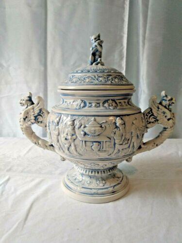 Antique German Soup Tureen Grimms Fairy Tails