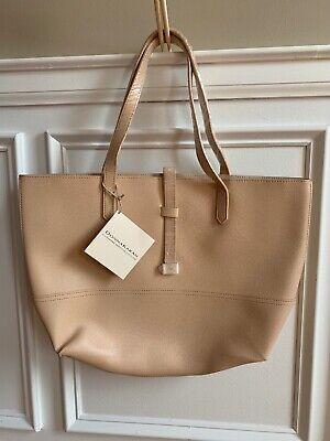 - DKNY DONNA KARAN COSMETICS beige Women shoulder purse tote bag shopper NEW