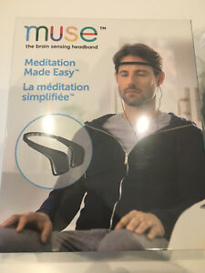 Muse band meditation relaxation yoga band new with case