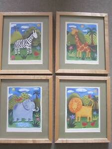 Jungle Nursery Prints from famous artist Sophie Harding Success Cockburn Area Preview