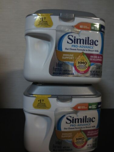Similac Pro-Advance Non-GMO Infant Formula with Iron Powder - 2 PACK -  23.2oz