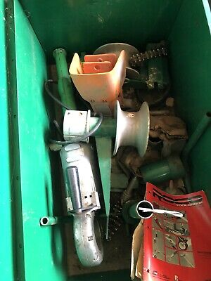 Greenlee 446 Porta-puller Cable Puller Pipe Threader