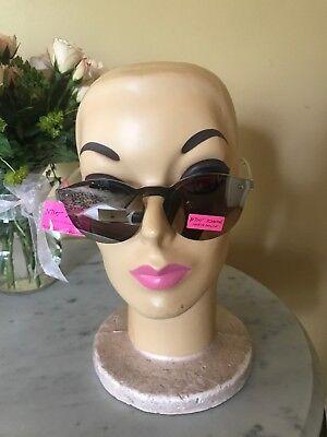 Betsey Johnson Women's Retro Mirrored Sunglasses