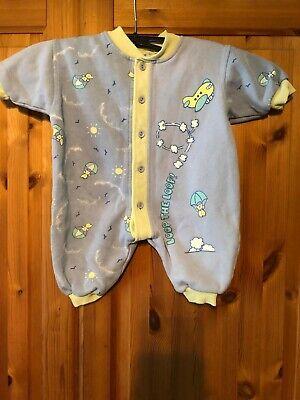 Baby Schlafanzug  Gr 68   hellblau / gelb v. Baby Club