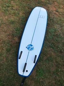 Soft top surf board