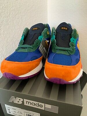 NEW BALANCE 992 M992 M992MC MULTI COLOR WHITE MADE IN USA Size 8 BRAND NEW