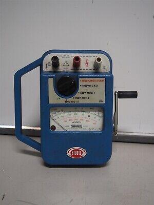 Biddle Megger 210359 Hand Crank Tester