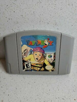 Paperboy (Nintendo 64, 1999) Authentic cart tested working free ship N64 Retro
