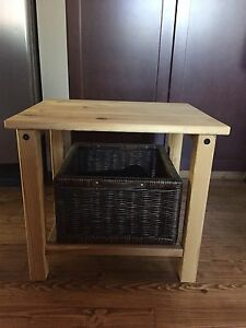 2 Pine Side/end/bedside tables