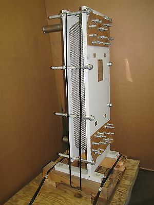 Api Pa-93087 Sigma 38 Ral Plate Type Heat Exchanger Qty 23 43 X 17 Plates