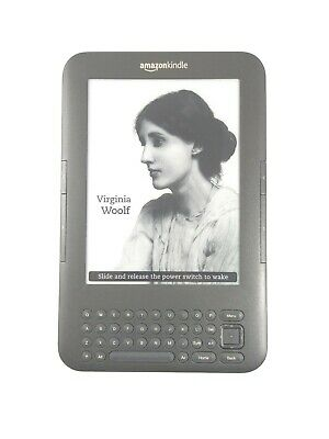 Amazon Kindle Keyboard 3rd Generation  |  Model D00901  |  Wi-Fi only  |  TESTED